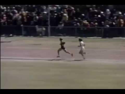 Dick Tayler 1974 10000m finish