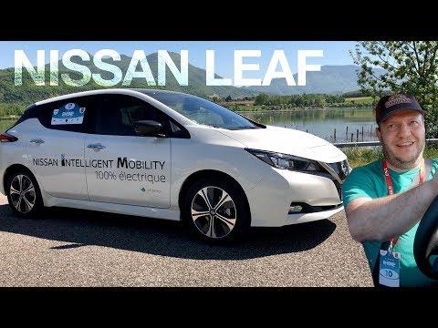 J'ai traversé la France en Nissan LEAF !