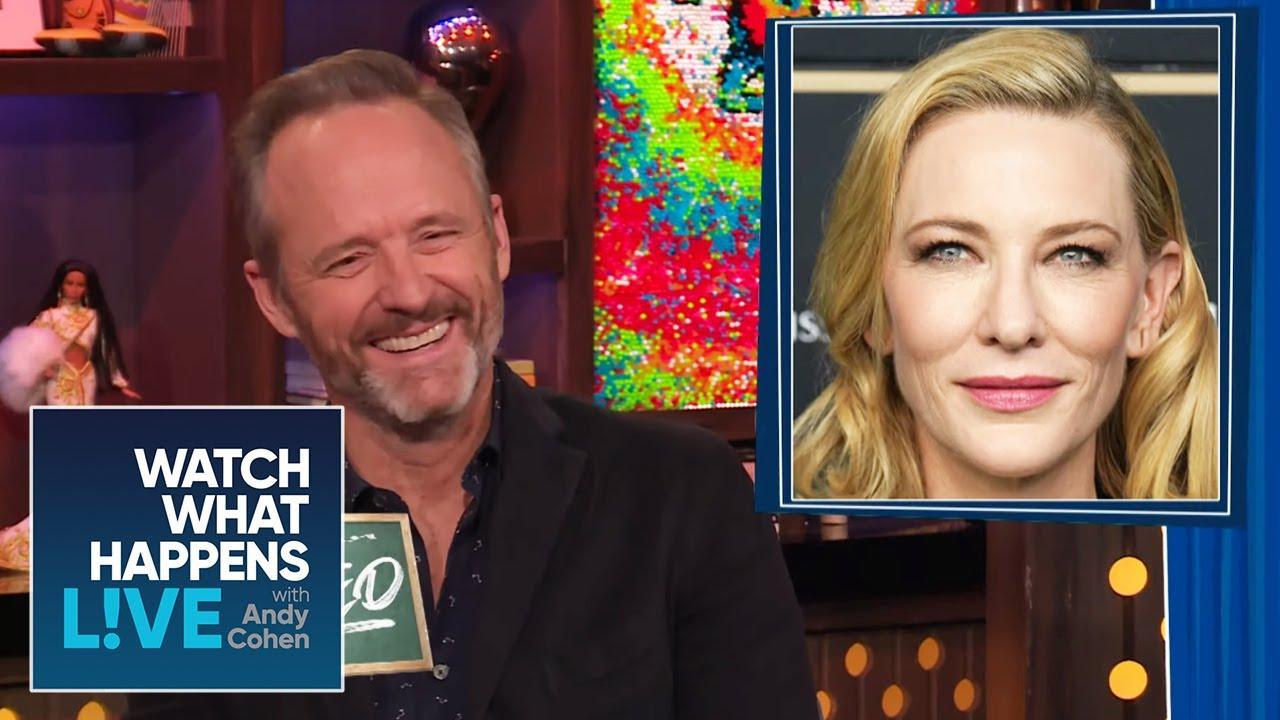 John Benjamin Hickey Jokes Cate Blanchett Turned Him Straight | WWHL