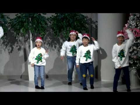 성탄축하교육부서 발표회 -유초등부율동
