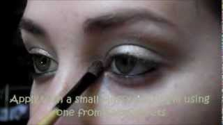 """Golden Green Look"" for ""Hazel Eyes Tutorial"" using ""UD Ammo Palette"" ""EYE COLOR SERIES"" Thumbnail"