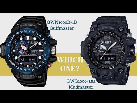 Casio G-Shock Mudmaster vs Gulfmaster | G Shock GWG-1000 Mudmaster vs G Shock GW