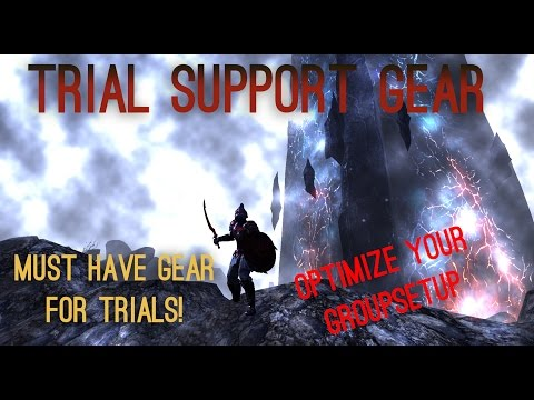 ESO - Trial Support Gear - Must have Gear for Trials!