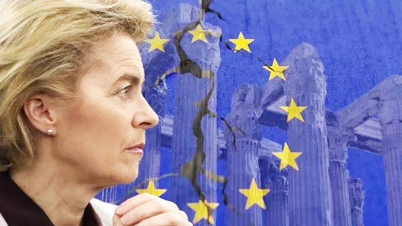 Download EU ruthIessIy torn apart as Von der Leyen's bloc dubbed 'faiIed empire'