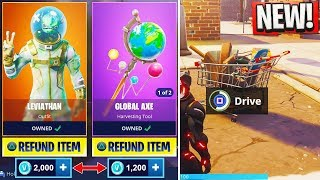 "NEW ""Shopping Cart"" GAMEPLAY! - How to REFUND SKINS in Fortnite: Battle Royale (New Fortnite Update)"