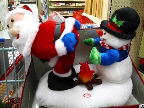 sick santa and snowman - Santa And Snowman