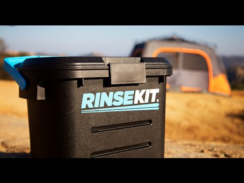 Rinsekit portable pressurized hose to go