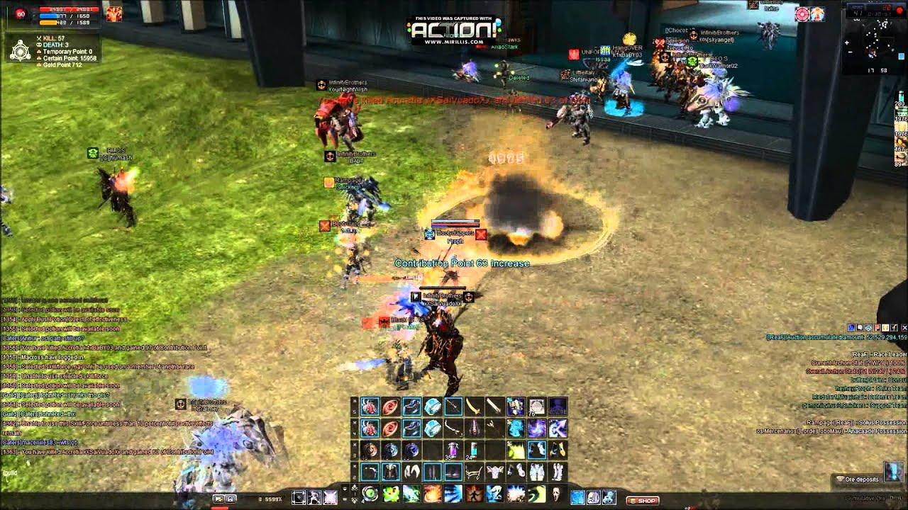 Rf Online Gamescampus Pvp Elan Youtube