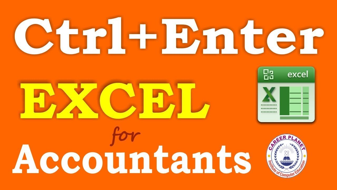 Www Enter Ru Excel Shortcuts Ctrl Enter For Accountants Part 2 Hindi Learn Ms Excel Tricks And Shortcuts