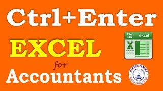 Excel Shortcuts-Ctrl Enter for Accountants Part-2 (Hindi)|Learn MS Excel Tricks and Shortcuts
