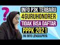 - 4 Kriteria Guru tidak bisa daftar PPPK 2021 | Info p3k terbaru | Podcast tktv