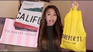 HUGE SUMMER CLOTHING TRY-ON HAUL 2017