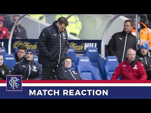 REACTION | Graeme Murty | Rangers 0-1 Kilmarnock