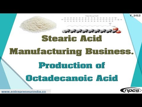 Stearic Acid Manufacturing Business