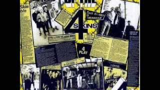 The 4 Skins - Evil ( Lyrics)