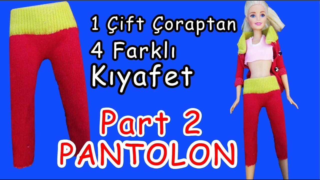 KOLAY PANTOLON YAPIMI