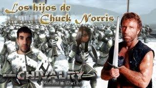 Los hijos de Chuck Norris - ¡A puños! en Chivalry: Medieval Warfare con Dashiel