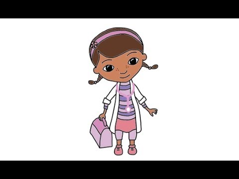 How To Draw Doc Mcstuffins From Disney S Doc Mcstuffins