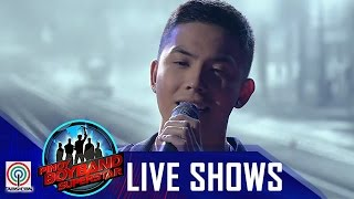 "Pinoy Boyband Superstar Last Elimination: Tony Labrusca - ""Pagkat Mahal Kita"""