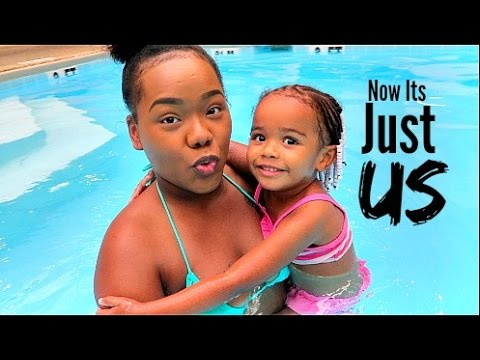 It's Just Us Now | Mommy & Daughter