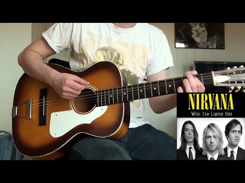 Nirvana - Been A Son Acoustic (Guitar Cover)