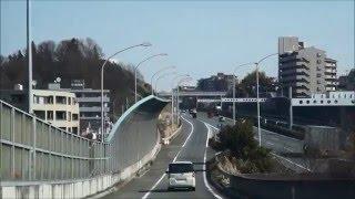 Driving from yokohama Aoba to Shibuya 横浜青葉→渋谷までのドライブ 首都高速