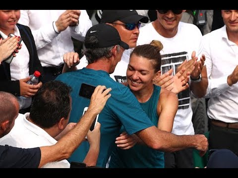Darren Cahill reflects on his time coaching Simona Halep