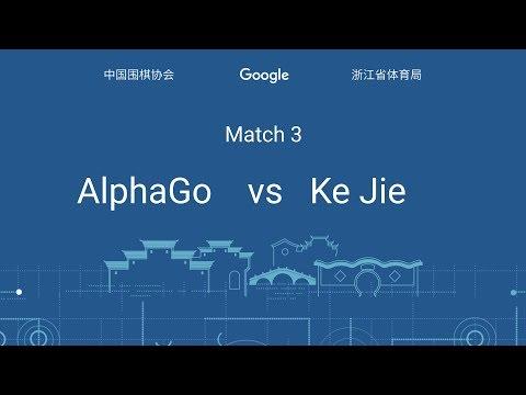 The Future of Go Summit, Match Three: Ke Jie & AlphaGo