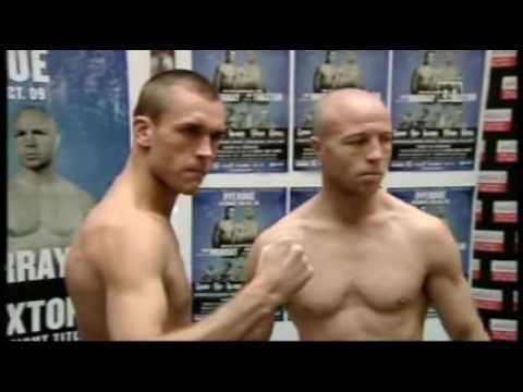 Weigh-in: John Murray vs Jon Thaxton