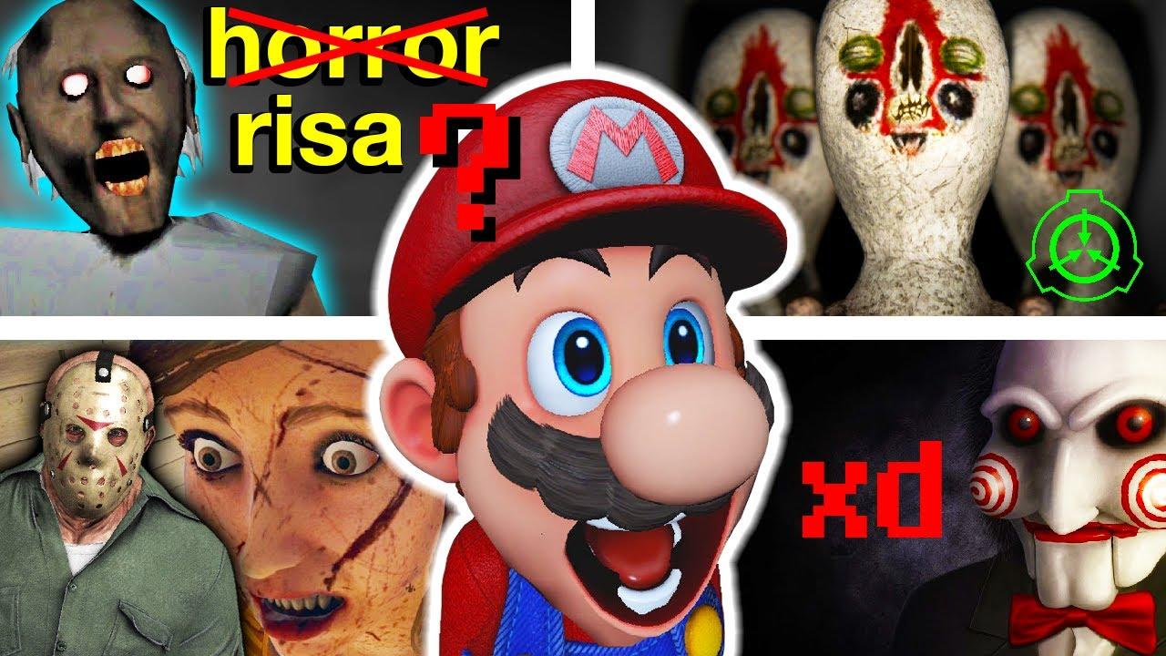 10 Videojuegos Aterradores que dan RISA más que Nada xD
