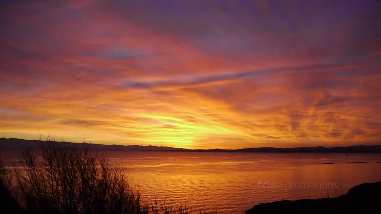 Best Victoria Bc Sunset Video Dallas Road Beacon Hill
