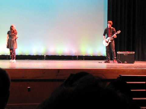 "Green Day's ""X-Kid"" at 2014 Oakland Mills High School Talent Show"