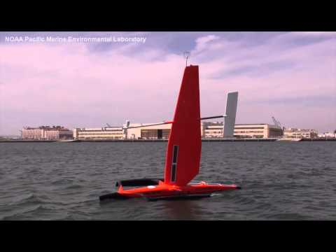 PMEL Saildrone in San Francisco in 2015:  Research Innovation & Marine Ecosystems