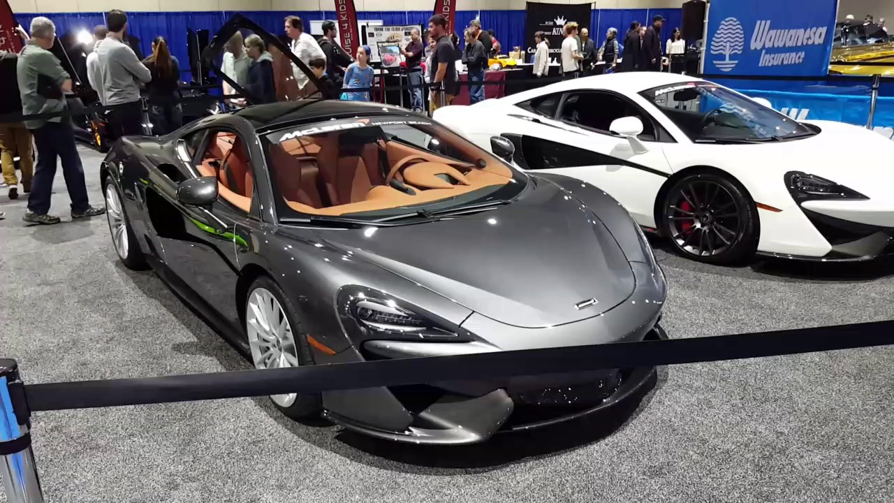 Cool Exotic Cars From San Diego International Auto Show Youtube