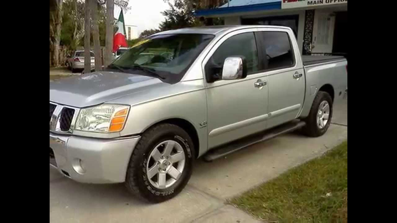 2004 nissan titan v8 4 door loaded luxury trucksuv at a work 2004 nissan titan v8 4 door loaded luxury trucksuv at a work truck price youtube vanachro Choice Image