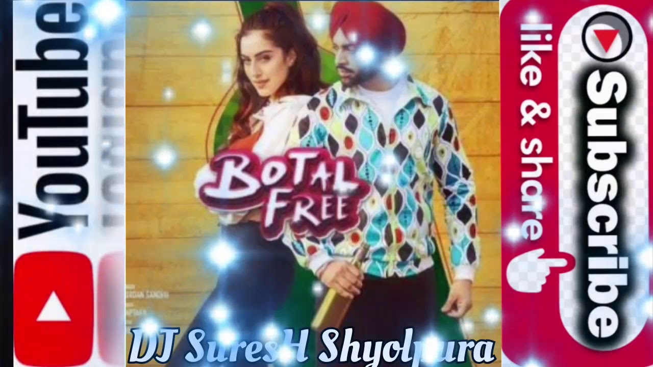Latest punjabi song 'Botal Free' by Jordan Sandhu makes fans groove to its quirky beats
