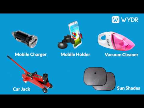 Top Selling Auto Accessories on Wydr Wholesale E-Commerce App (Part 1)