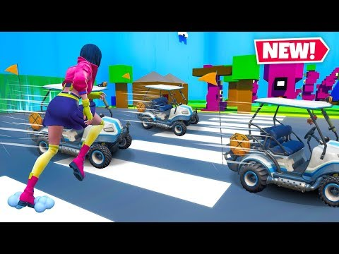 Can You CROSS THE ROAD In Fortnite?? (New Map!)