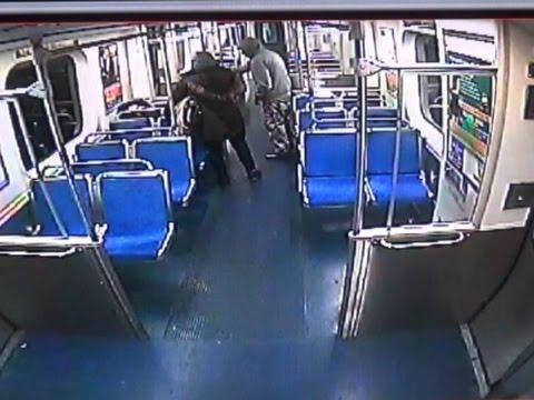 Raw: Philadelphia Man Robbed, Thrown on Tracks