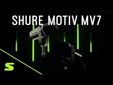 Shure MOTIV MV7 Podcast Microphone