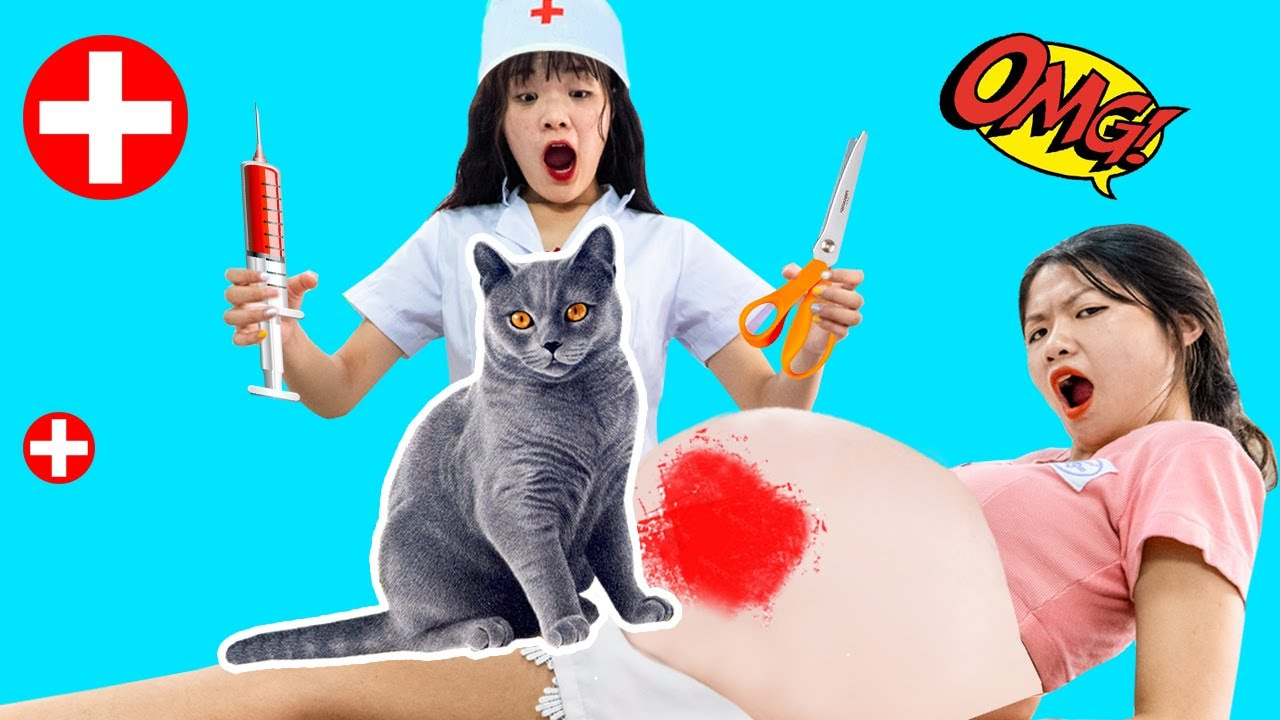 TRY NOT TO LAUGH 2020 - Funny Pregnancy Pranks   Funny Pranks and Life Hacks with Cat   Kiwi Funny