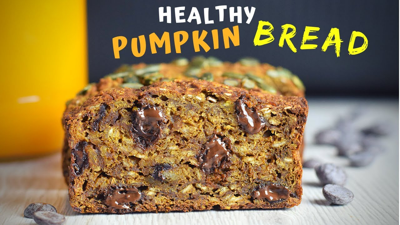 Healthy Pumpkin Bread (MOIST AND INDULGENT!)