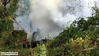 Asbest vrijgekomen bij uitslaande schuurbrand in buitengebied Beerzerveld