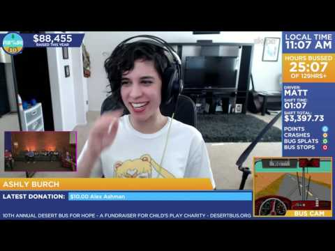DB10 - Call-in: Ashly Burch