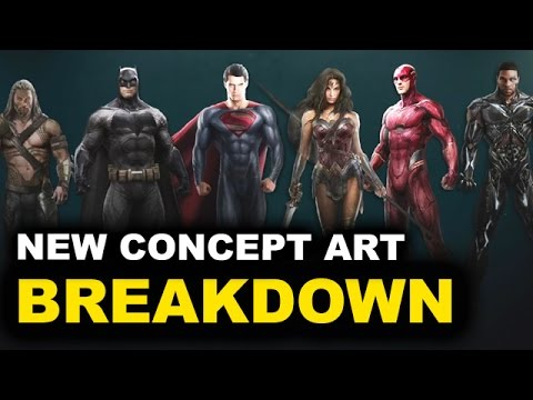 Justice League Movie 2017 - Characters & Costumes BREAKDOWN