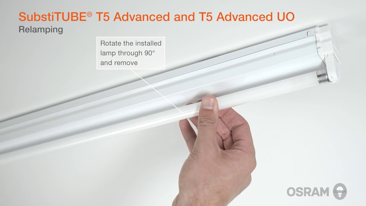 Installation guide for the innovative OSRAM SubstiTUBE T5 LED tubes