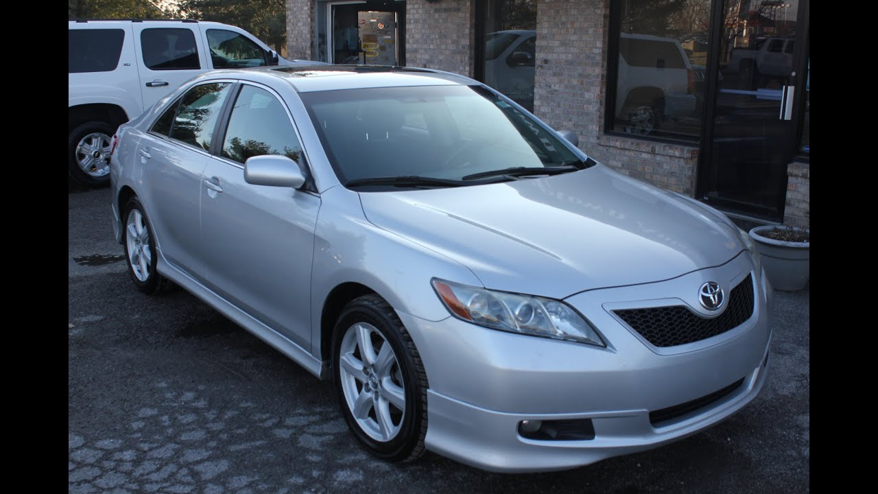 used 2008 toyota camry se for sale sunroof georgetown auto. Black Bedroom Furniture Sets. Home Design Ideas