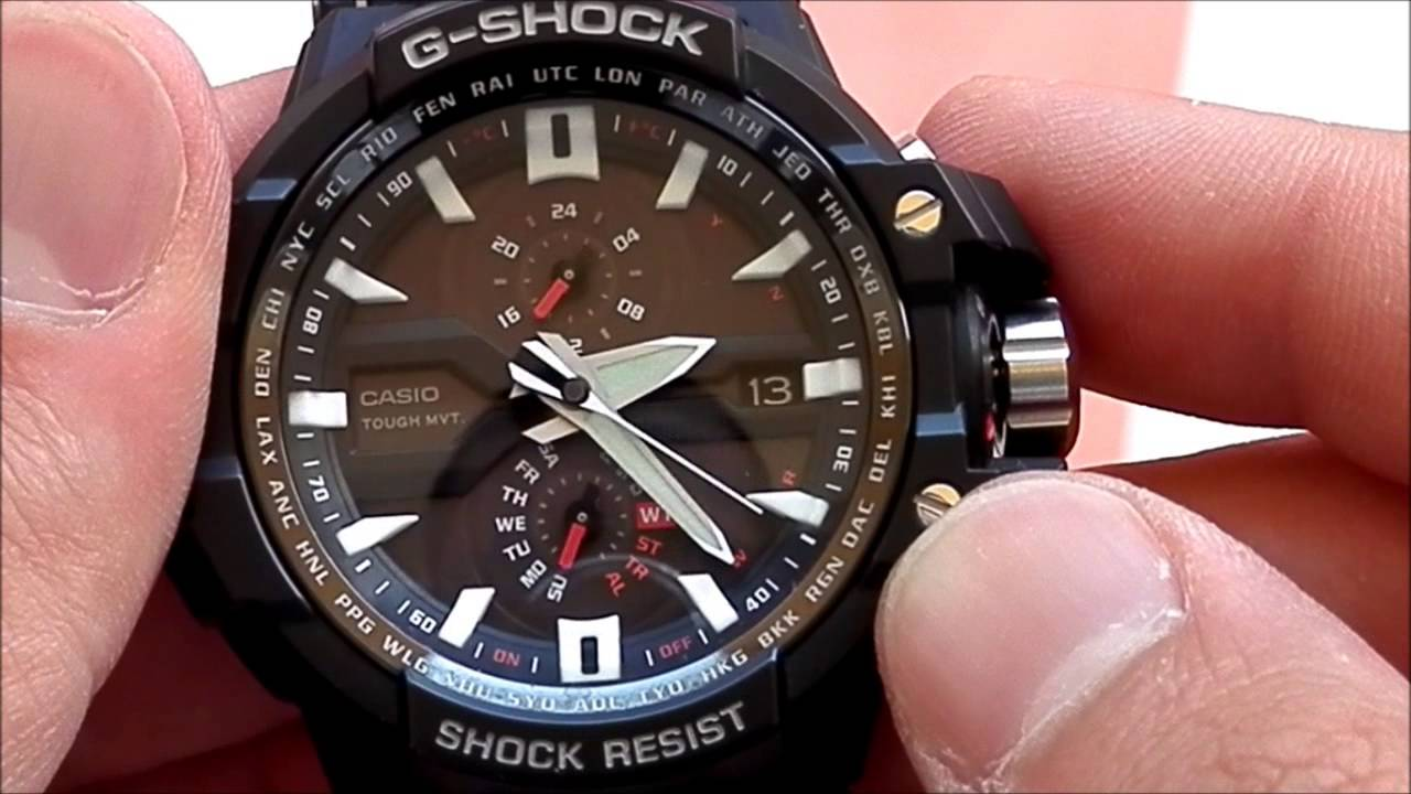 Casio G Shock Gw A1000 1a Youtube