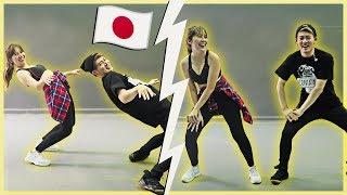 Dancei FUNK com um coreógrafo JAPONÊS! ft. Rikimaru