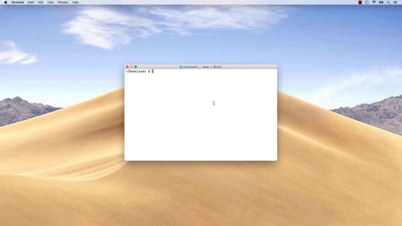 Install Java 11 OpenJDK 11 on macOS Mojave
